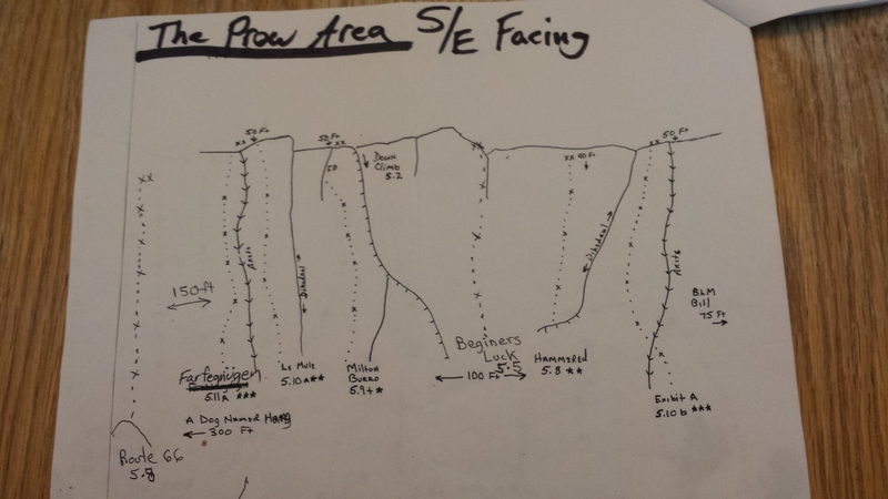 The Prow Area S/E facing