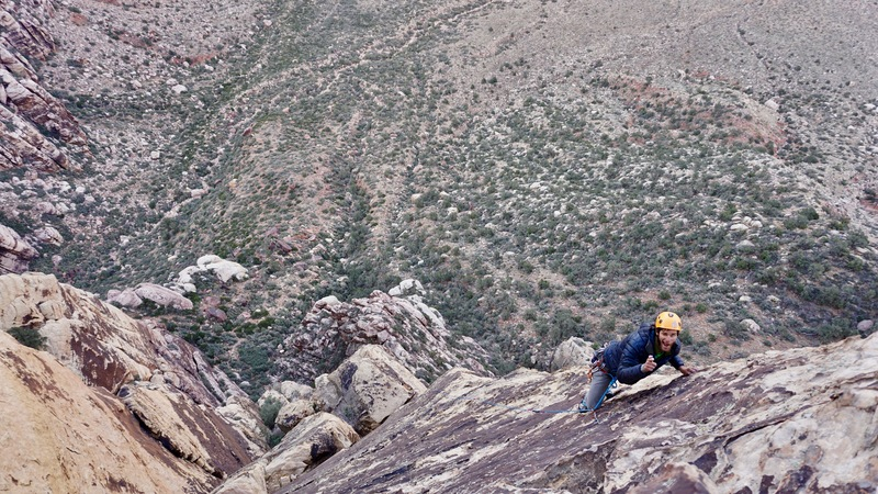 Abram Caldwell on top of Pitch 7