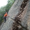 Jeff enters the crux section