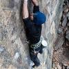 Climber: Michael Mosure <br> <br> Photo: Chris Ingram