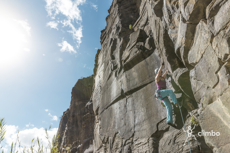Climbing in February!<br> <br> Picture: @katcarney