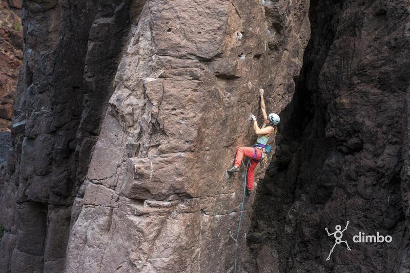 Climbing in La Sorrueda.<br> Picture: @katcarney