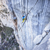 Martin on P2.  Stunning pitch of limestone. ©Fixed Line Media