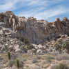 Hemingway Buttress as seen from the approach trail. (HI-RES)