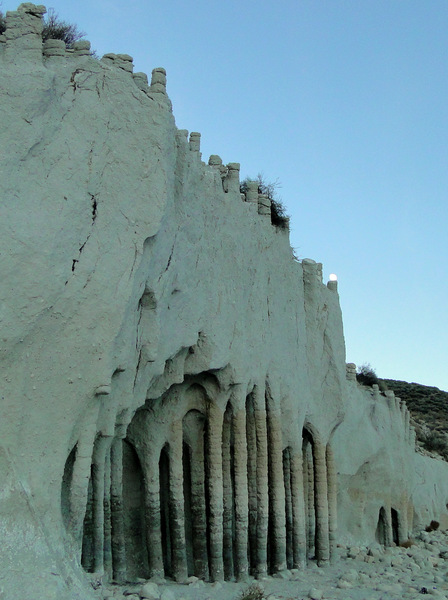 The unique formations of the Crowley Lake columns.