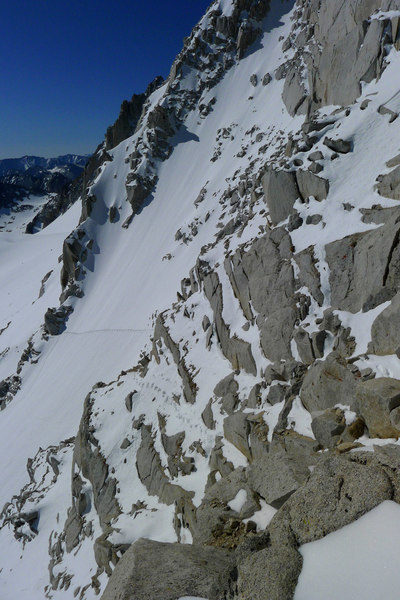 Alpine conditions on the std route (5/28/2012)