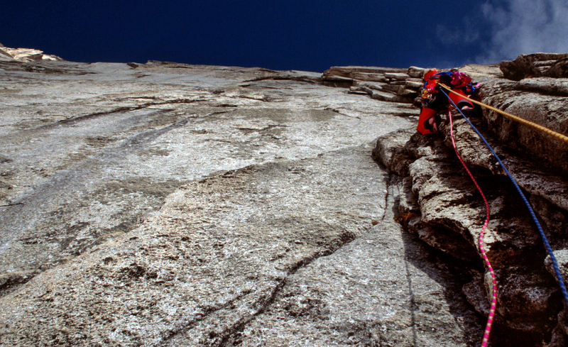 Mark Whiton leading the 3rd pitch.