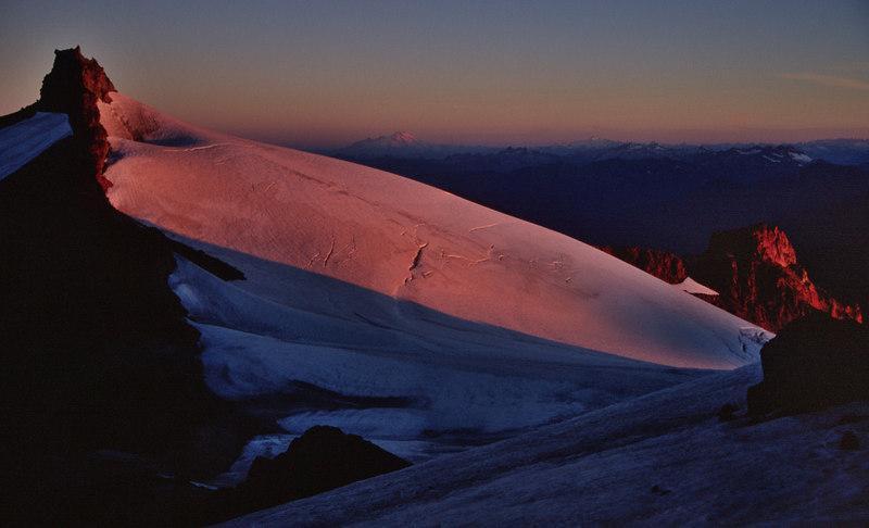 Kennedy Peak at sunrise - August 2003
