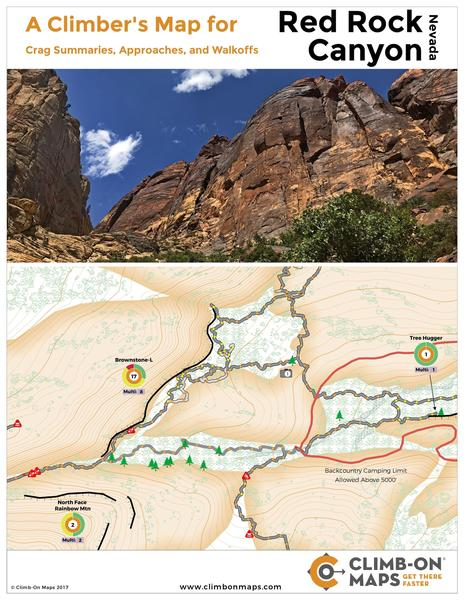 Red Rock Climb-On Map