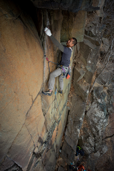Climber Jo Lee