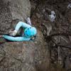 Climber Kristina Suorsa<br> Photo by Anthony Johnson