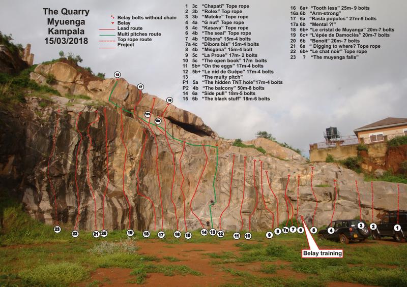 Quarry Topo