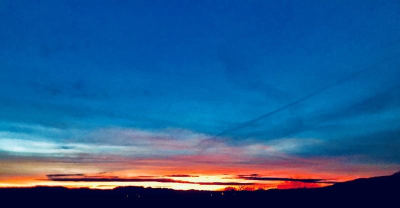 Those sunrises always make the alpine starts worth it!