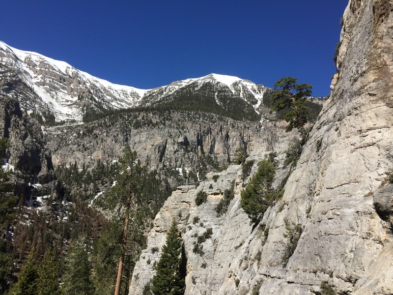 The Peak as seen from Nueva Esperanza