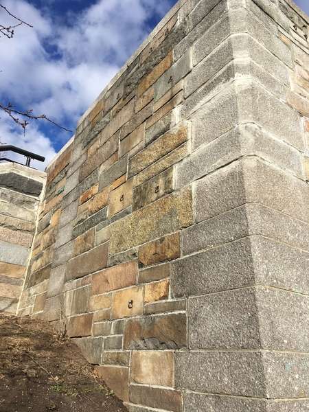 72nd Street stairs (West face)