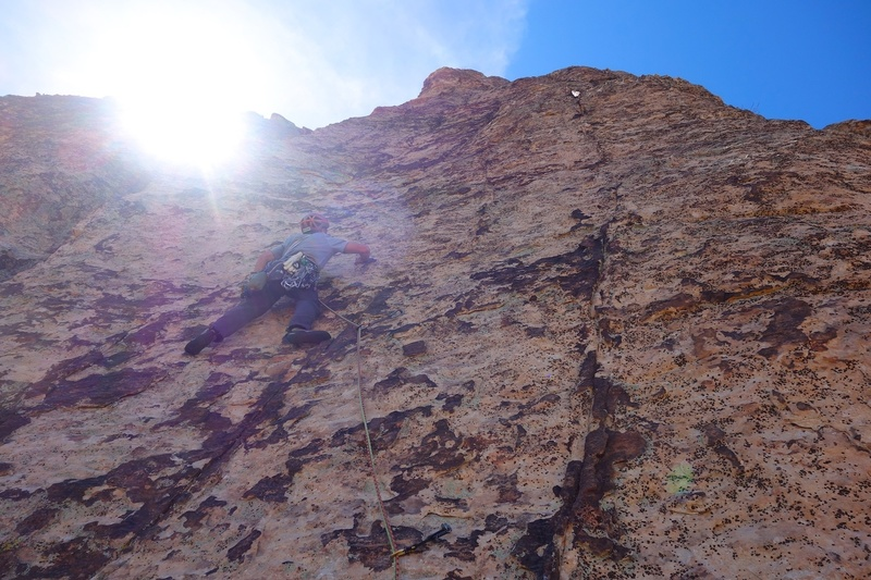 Pitch 10. Steep but juggy. So fun.