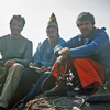 Brian, Bill and Bryan, top of Standing Rock