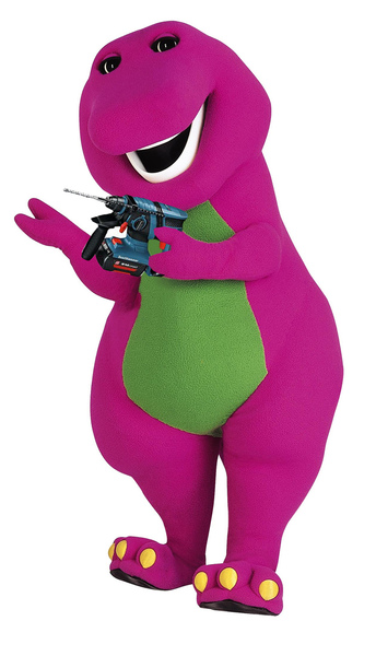 Bolting Barney