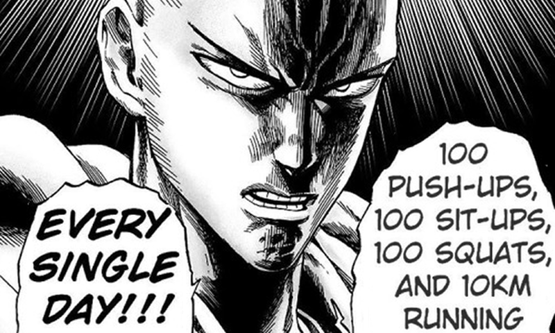 Training beta from the one punch man himself.