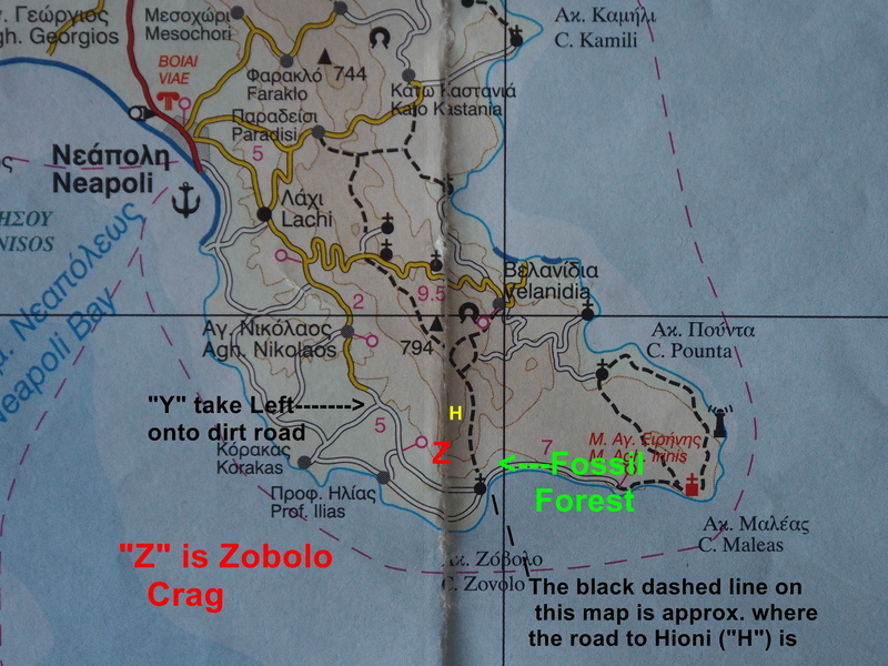 Neapoli to Zobolo Map