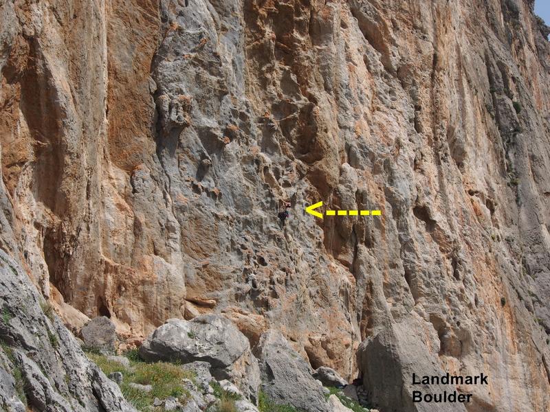 climber on Dimitra