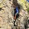 Climber Josh Wahba enjoying the corridor of Ireland