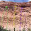 slabulous (L green), Slab a dab a doo (R green), Slab One (yellow), Slab line ( L purple), To Slab or Not (R purple)