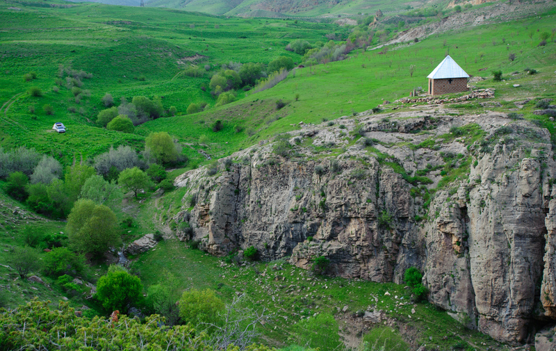Upper East Sector of Hells Canyon. Redemption is on the shield on the RH side of the photo.