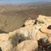 Gokul, Doug, Matthew, and Brice having an Admin conference atop Whiskey Peak 4/14/18