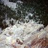 Soloing Easy Ridge 1977