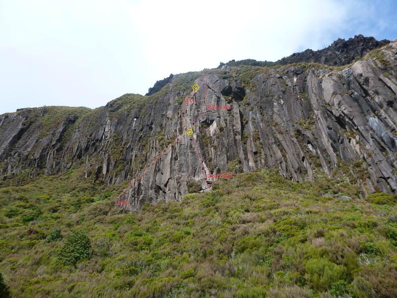 Lower Tuwharetoa cliffs