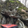 Glass Hovercraft. A gem of The Garden, this boulder features 4 star movement on 3 star sharp sharp sharp rock. Tape up your pads if you plan on slipping off.