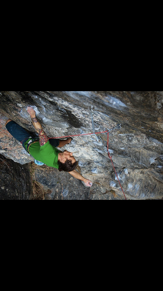 A quick rest before tackling the crux on Twitch.