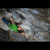 A quick rest before tackling the crux on Twitch.<br> <br> Photo by Michael Hauck.