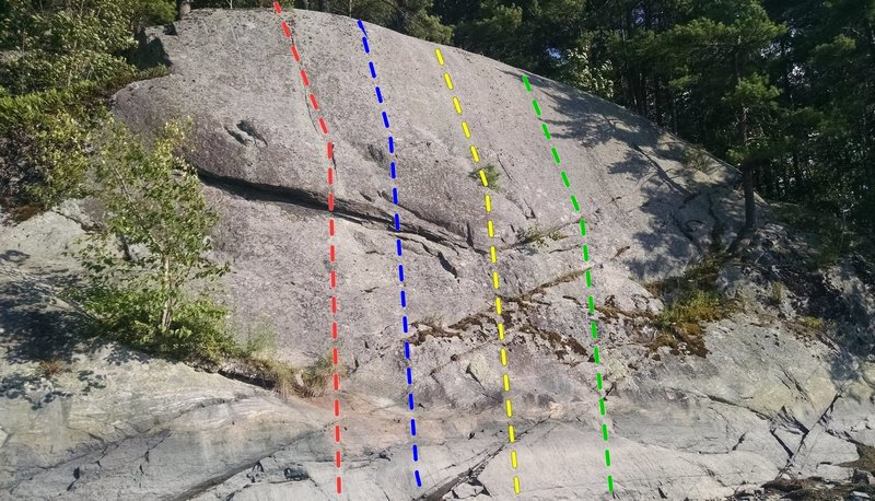 Red is the 5.6 crack 