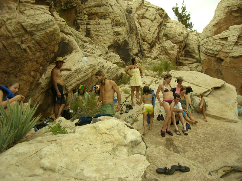 Fun times with friends, East Clear Creek