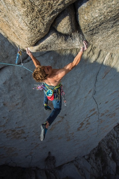 38 years after the first ascent! With slightly more gymnastic beta and no fingerlocks
