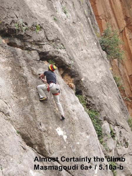 Climb # 19 Masmagoudi