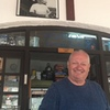 Ha, Steve McDonnell at Glaros Snack Bar does smile.  Maybe it's because I just donated to the bolt fund.