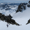 Booting towards the summit of Mt. Ritter