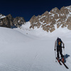 Ascending on Basin Mountain