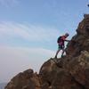 Peter on the West Ridge