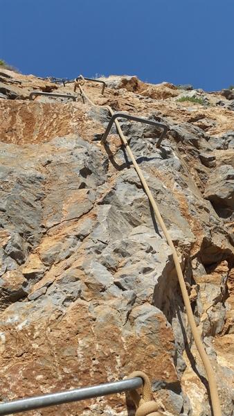 Road side access ladder for Arginonta,