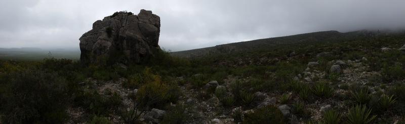Big boulder at La Popa