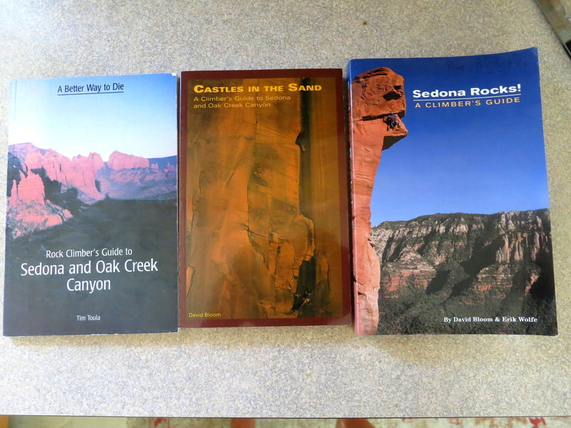 A history of guidebooks for Sedona