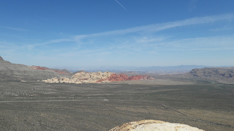 Las Vegas view...