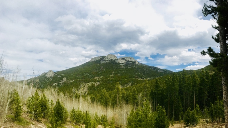 Mount T. from RR campground!