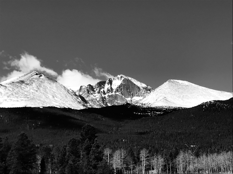 As seen from Long's Peak viewpoint!