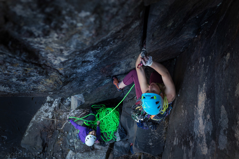 Climber Kristina Suorsa