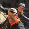 Mike and I at the top of Calypso! Fun climb!